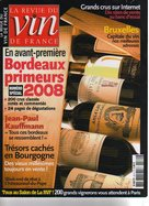 La revue du vin de France, mai 2009, article sur le Salon RVF 2009
